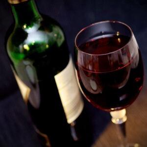 צריכת יין אדום